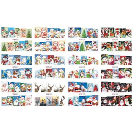 WATER DECAL NATALE