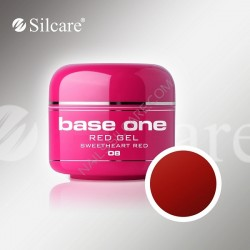 BASE ONE RED GEL SWEETHEART RED 5g *08