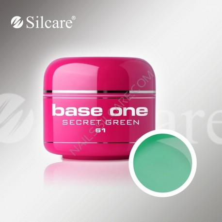 BASE ONE COLOR SECRET GREEN 5g *61