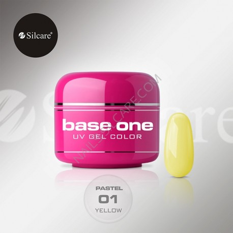 BASE ONE PASTEL YELLOW *01 5g