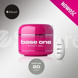 BASE ONE PAINT GEL GRAY 5g *20