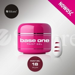 BASE ONE PAINT GEL PLUM 5g *18