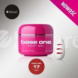 BASE ONE PAINT GEL RED 5g *17