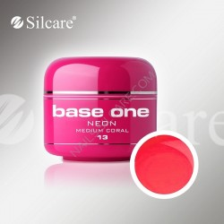 BASE ONE NEON GEL MEDIUM CORAL *13 5g