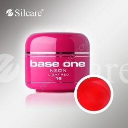 BASE ONE NEON GEL LIGHT RED *16 5g