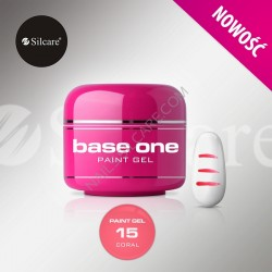 BASE ONE PAINT GEL CORAL 5g *15