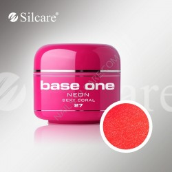 BASE ONE NEON GEL SEXY CORAL *27 5g