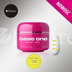 BASE ONE PAINT GEL YELLOW 5g *12