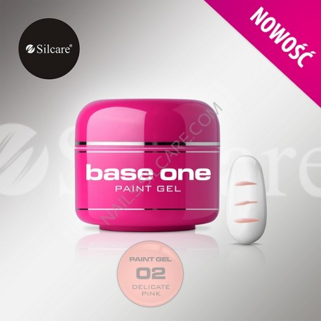 BASE ONE PAINT GEL DELICATE PINK 5g *02