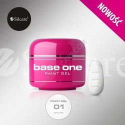 BASE ONE PAINT GEL WHITE 5g *01